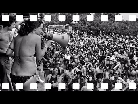 """The Hippie & Rock Movement at the 1975 """"Proletariat Youth Festival"""" in Milan, Italy"""