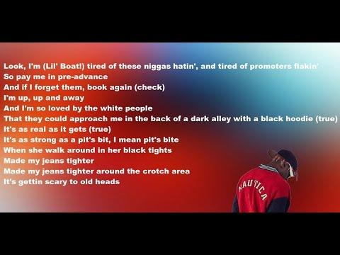 Taylor Bennett feat. Lil Yachty (LYRIC VIDEO) - Neon Lights