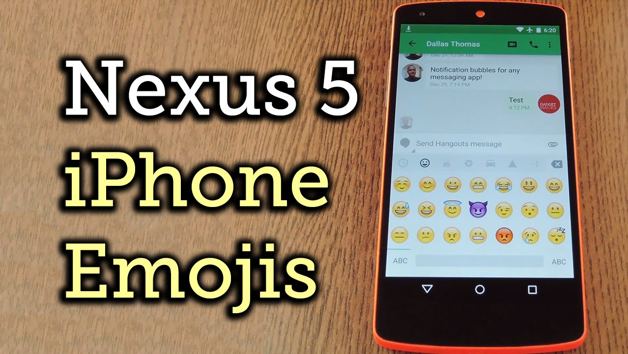 how to get emojis on iphone 5 get iphone emojis on your nexus 5 how to 3383