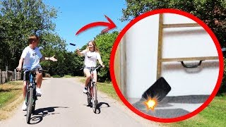 WERFEN mit IPHONE X 😳 (extrem Drop Test)