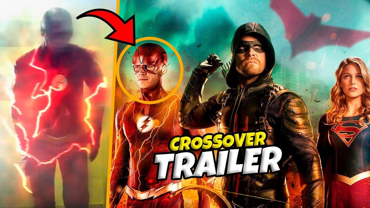 épico The Flash Temporada 5 Trailer Extendido Crossover Arrow Supergirl Youtube