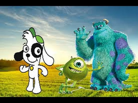 Desenho Doki Monstros Sa Discovery Kids Disney Pixar 2016 Brasil
