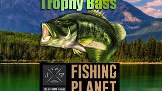 Fishing Planet - Trophy Bass Fishing Guide Mudwater river . EP#4