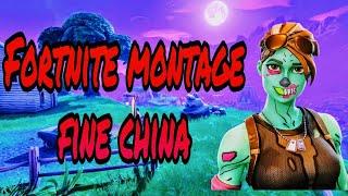 Fortnite Montage-Fine China(Juice Wrld)
