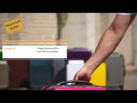 Hauptstadtkoffer® - Serie Alex Detailvideo Reisekoffer