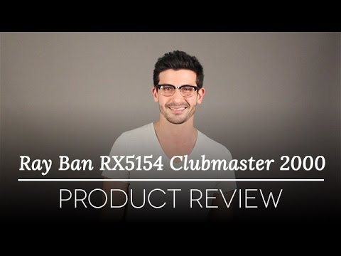ray ban prescription glasses rx5154 clubmaster  ray ban rx5154 clubmaster 2000 glasses review