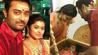 Repeat youtube video Sneha and Prasanna pulling Golden Chariot in Palani Temple | Hot Tamil Cinema News