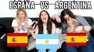 ARGENTINA VS ESPAÑA - BATALLA DE IDIOMAS | Steph T ft. Azul Mistico