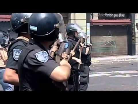 """Argentinazo - 19 y 20 de diciembre de 2001 - """"Memoria del Saqueo"""""""