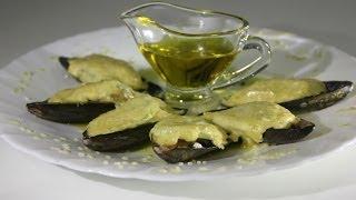 Шикарный  рецепт домашних мидий