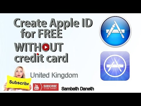 Create apple ID country United Kingdom