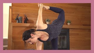 Minimal Cues Yoga - Int/Adv Balance & Standing Poses Silent Flow {35 min}