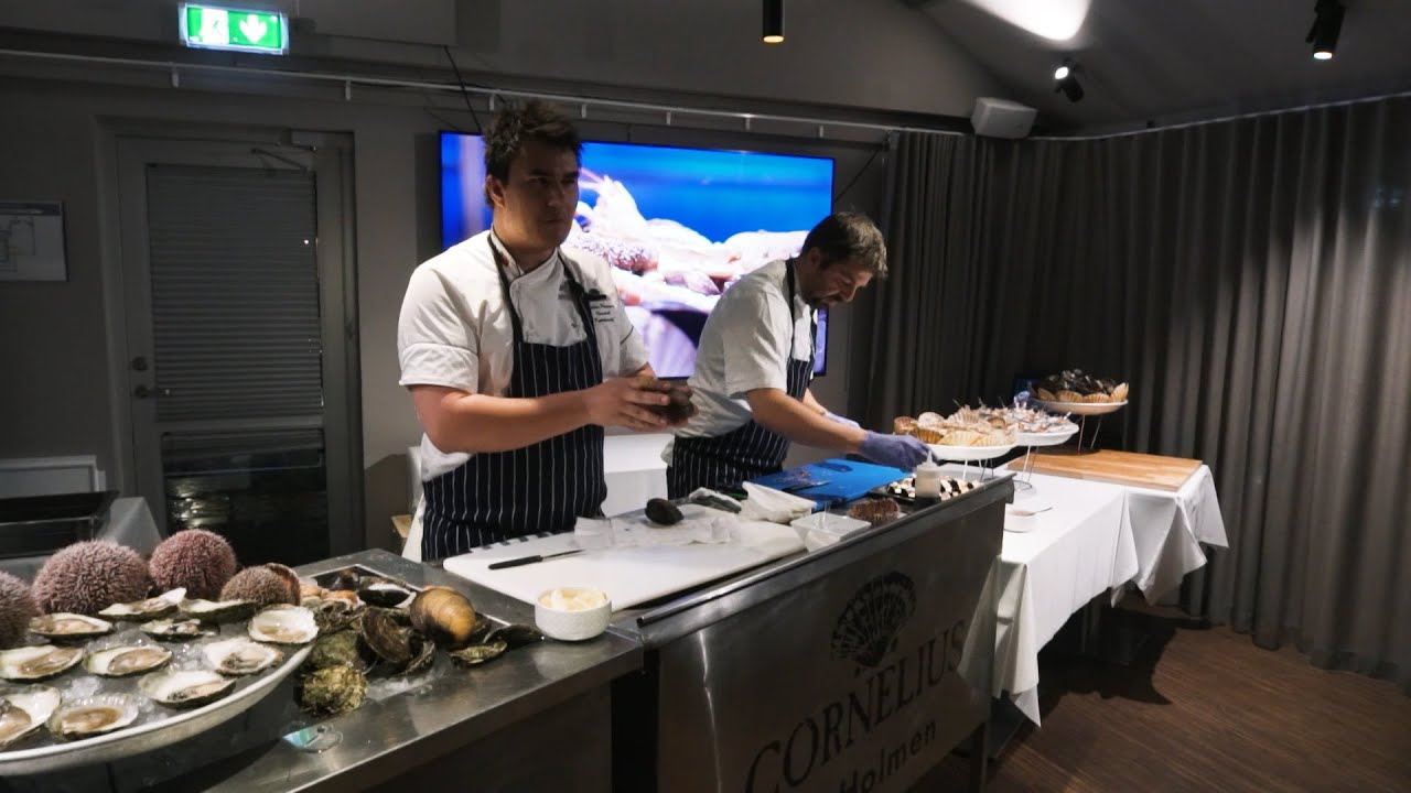 Thumbnail: Cornelius Sjømatrestaurant - En rå sjømatopplevelse ved havgapet i Bergen