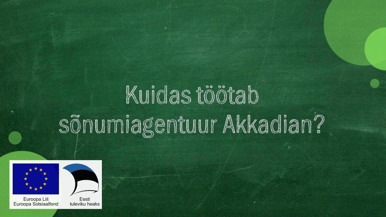 #017 Kadri Lainas - Kuidas töötab sõnumiagentuur Akkadian?