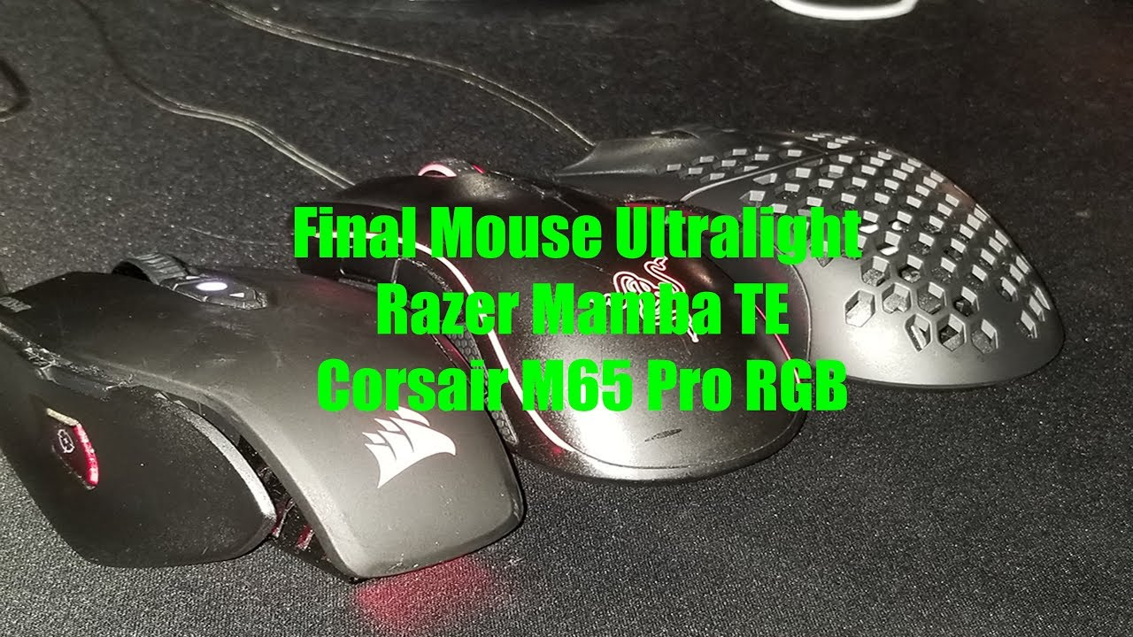 How the Final Mouse Ultralight Pro Compares to Other Top Mice
