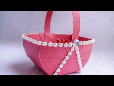 Paper Basket | Simple DIY Paper Craft Ideas | HandiWorks #88