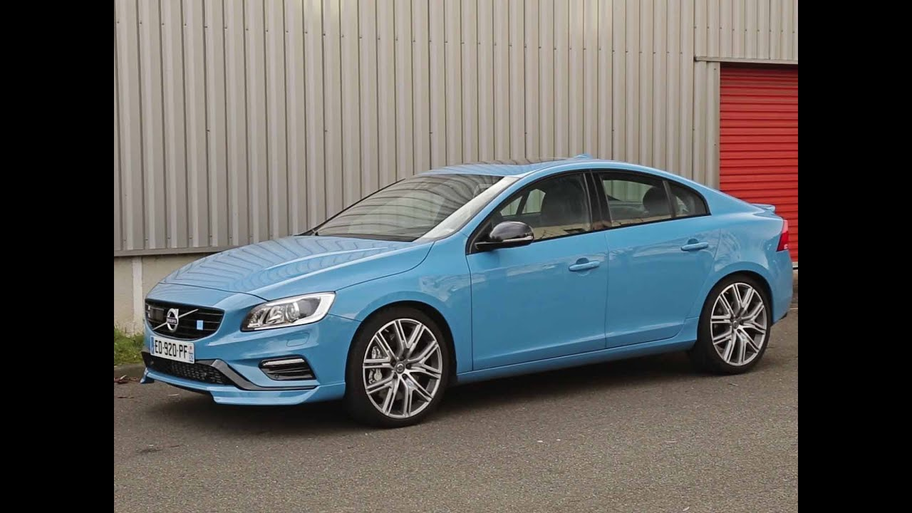 essai volvo s60 polestar 2016 youtube. Black Bedroom Furniture Sets. Home Design Ideas