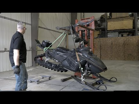 Lightest Snowmobile  Suspension Ever Made!  26.8 Pounds!