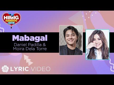 Daniel Padilla & Moira Dela Torre -  Mabagal  Himig Handog 2019
