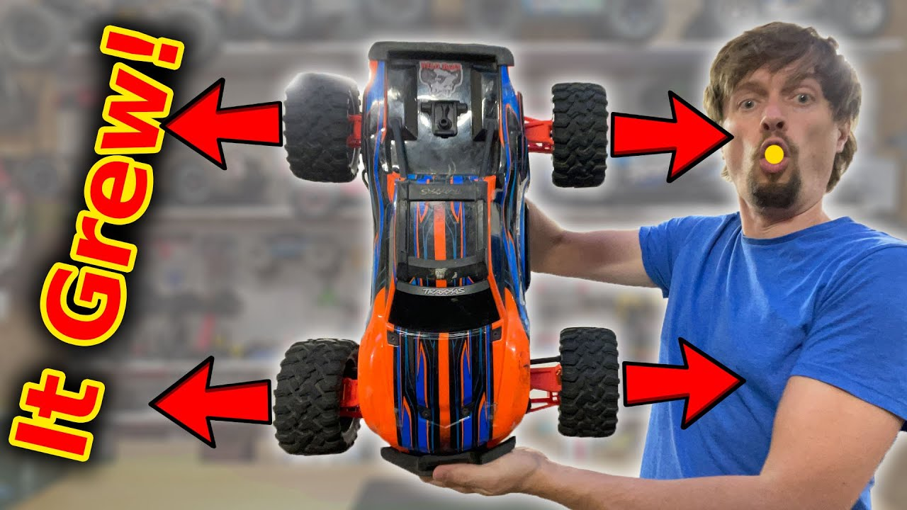 Making an RC Car Bigger - but is it better?