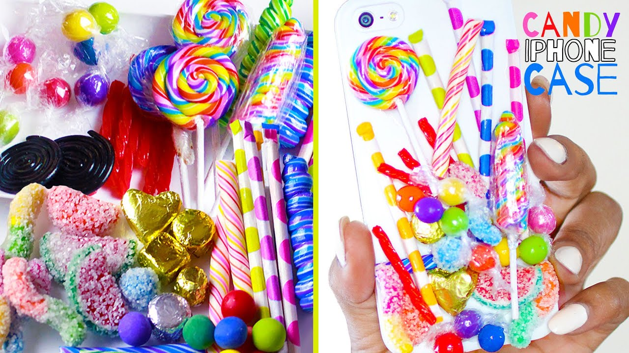 Make Your Own Iphone 5 Wallpaper Candy Phone Case Polymer Clay How To Make Pixie Sticks