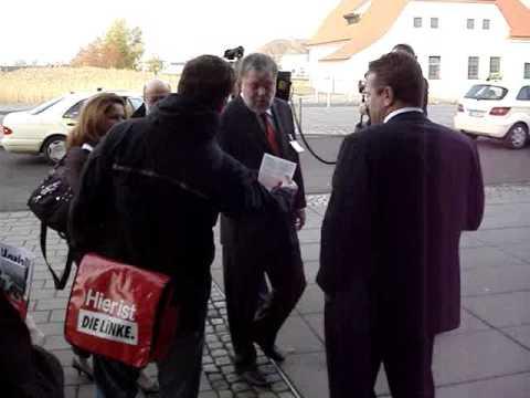 Linksjugend beim SPD-Bundesparteitag in Dresden