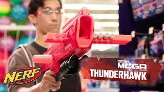 'NERF MEGA Accustrike Series Thunderhawk Blaster - Longest NERF Blaster Ever!' Official Teaser
