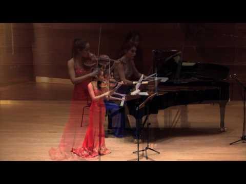 """Verena Chen (陈瑞玲) - Fritz Kreisler """"Tambourine Chinois"""""""
