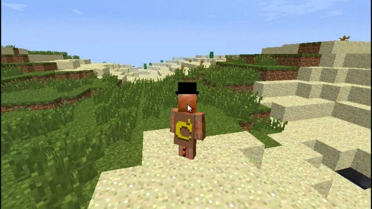 How to Apply Capes and Hats on Minecraft v1.5.2 - YouTube