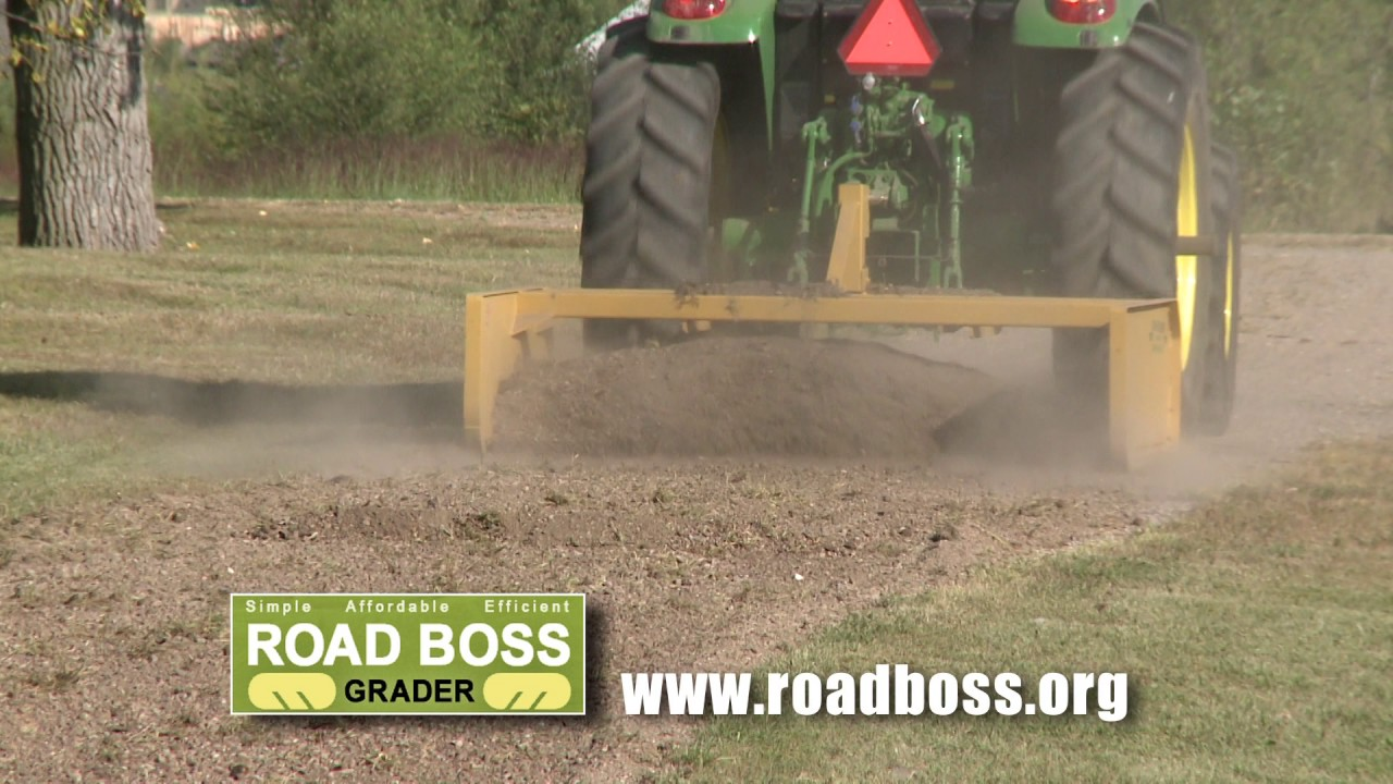How to use the Road Boss Grader