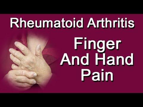 Finger, Wrist, And Hand Pain From Rheumatoid Arthritis