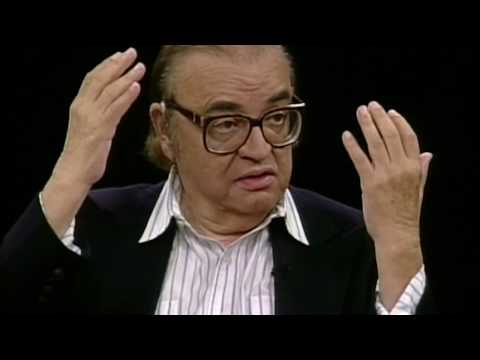 Mario Puzo (The Godfather) interview on Charlie Rose (1996)