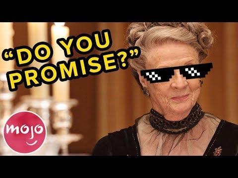 Top 10 SAVAGE Dowager Countess of Grantham Moments