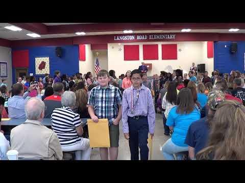 5th grade graduation at Langston Road Elementary School 2018