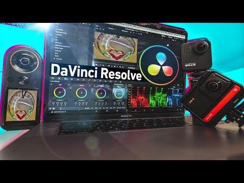 DaVinci Resolve - Reframe Qoocam 8K, Insta360 One R & GoPro Max FREE & DOESN'T SUCK!