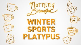 Winter Sports Platypus - MORNING DRAWFEE