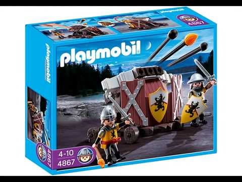 playmobil pr sentation collection chevaliers 2013 youtube. Black Bedroom Furniture Sets. Home Design Ideas