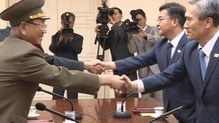 Северная и Южная Корея пытаются договориться
