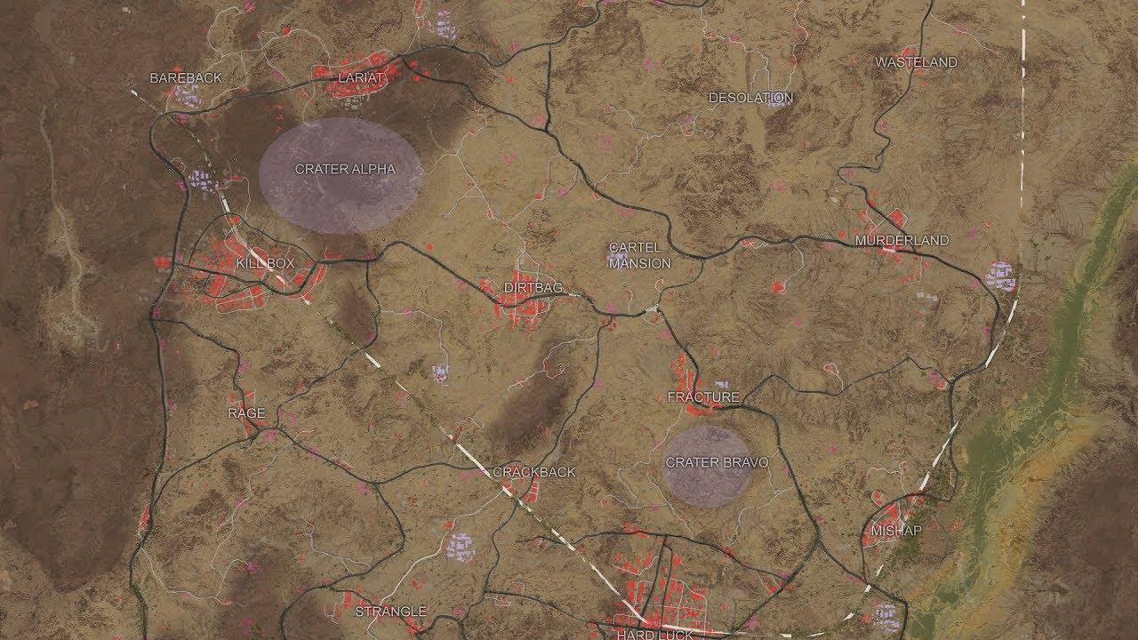 Playerunknown S Battlegrounds Desert Map: Desert Map German Deutsch