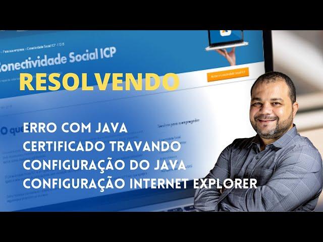 CONECTIVIDADE ICP - PRIMEIRO ACESSO - RESOLVENDO ERRO COM CERTIFICADO