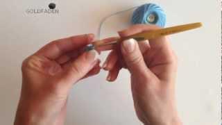 Goldfaden - Ирландское кружево Урок Мастер класс[HD] Вязание  Irish Crochet