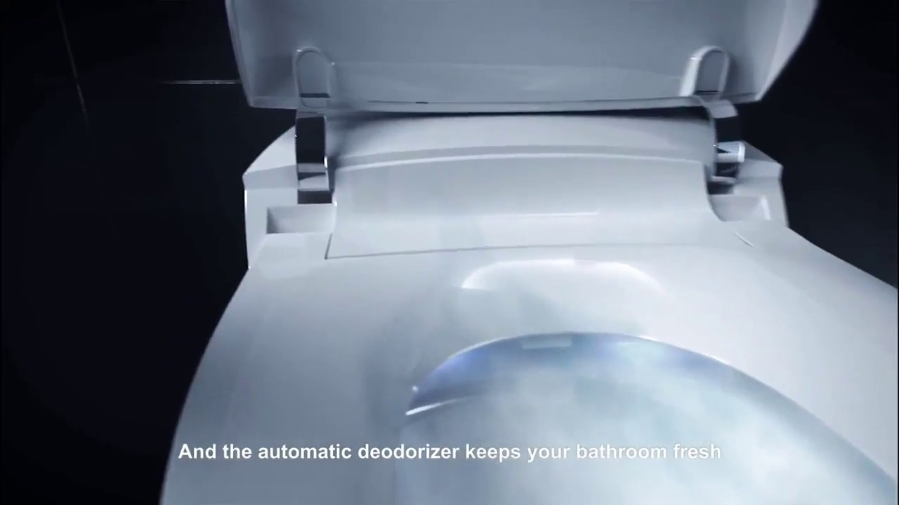 Kohler Veil Intelligent Skirted One Piece Elongated Bidet Toilet Youtube