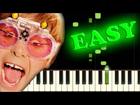 ELTON JOHN - ROCKET MAN - Easy Piano Tutorial