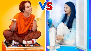 Hot vs Cold / Funny Pranks / Challenge Ideas / Funny Situations / Types  of People / Superheroes