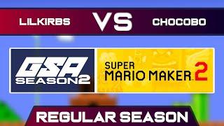 LilKirbs vs BlueChocobo | Regular Season | GSA SMM2 Endless Mode Speedrun League DA Season 2