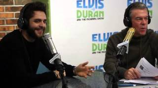Thomas Rhett Interview on Being a Country Boy and His Fairytale Marriage | Elvis Duran Show
