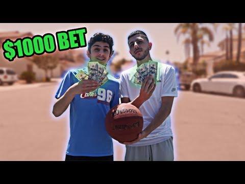 1v1 vs FaZe RUG for $1000 (CRAZY CLOSE