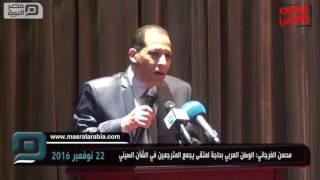مصر العربية   محسن الفرجاني: الوطن العربي بحاجة لمتقى يجمع المترجمين في الشأن الصيني