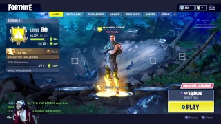 FORTNITE LIVE PRO PLAYER 823+ WINS!! FREE V-BUCKS GIVEAWAY FOR SUBSCRIBERS!!