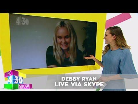 Debby Ryan - Live via Skype